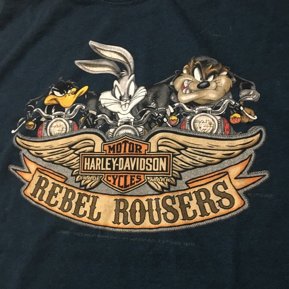 Harley Davidson Nashville >> Looney Tunes Harley Davidson Nashville Tee